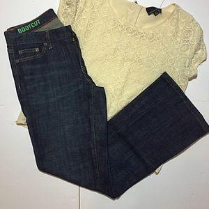 J. Crew Factory Bootcut Jeans 29 8